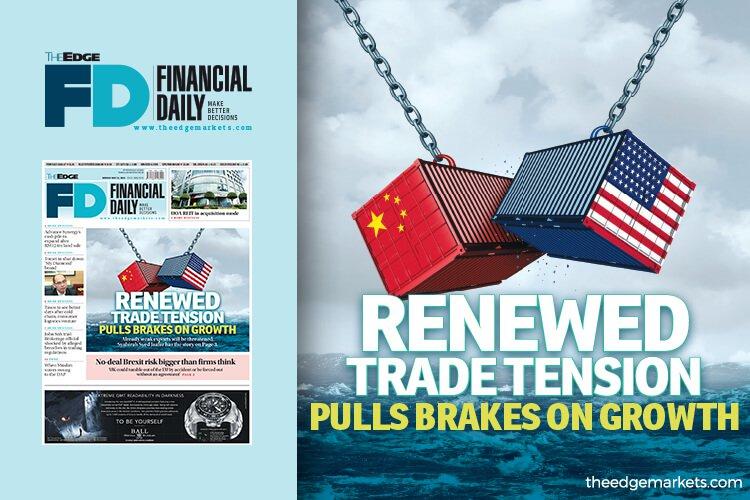 贸易紧张重燃将抑制经济增长